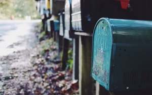Blue Mailbox